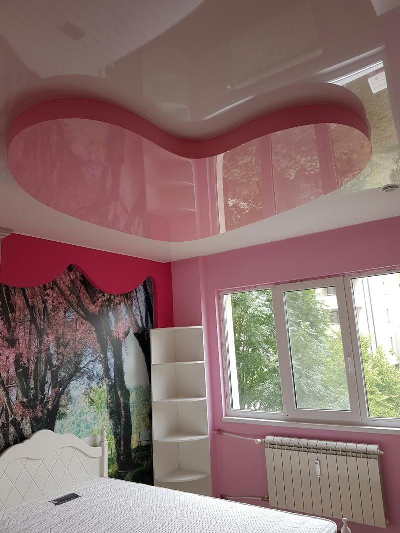 Опънати тавани с фотопечат на едно и две нива